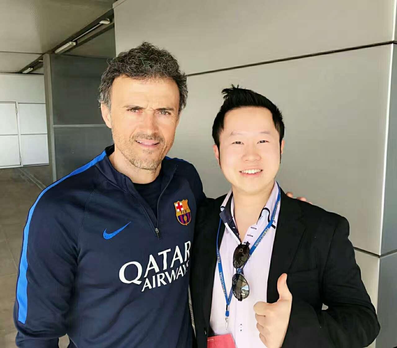 西班牙国家队主教练 <br> Luis Enrique