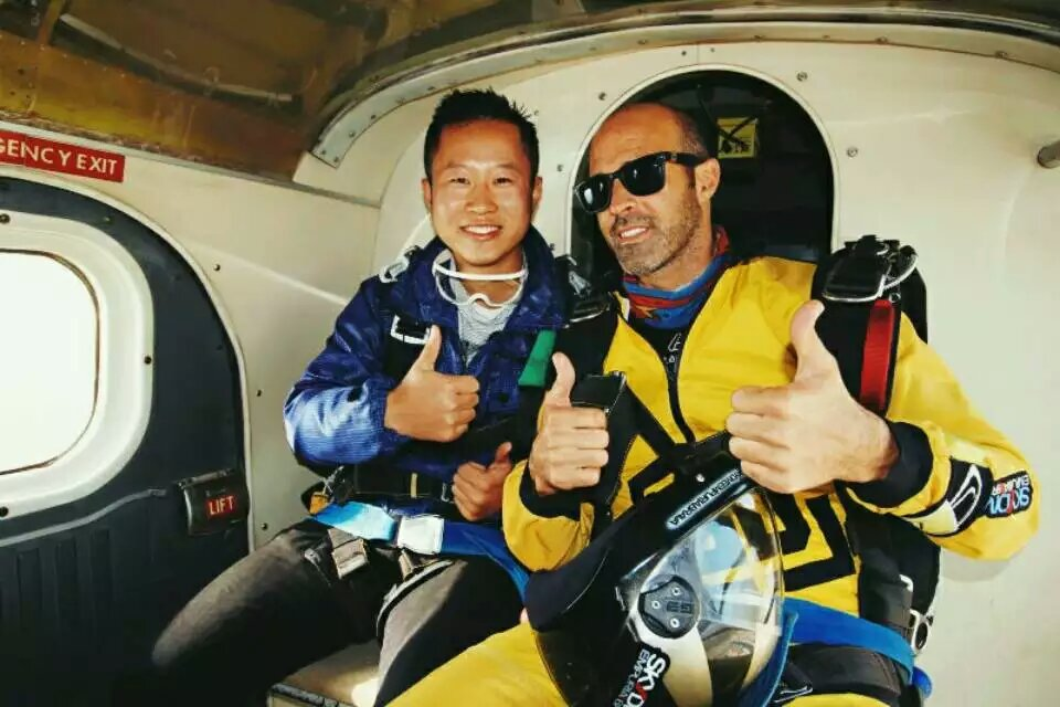 Skydive Empuriabrava跳伞总管 Jorge