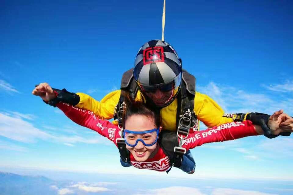 4000米极限跳伞