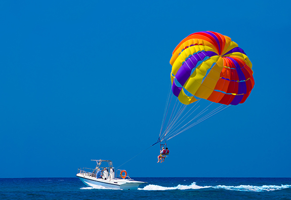 海上拖曳伞