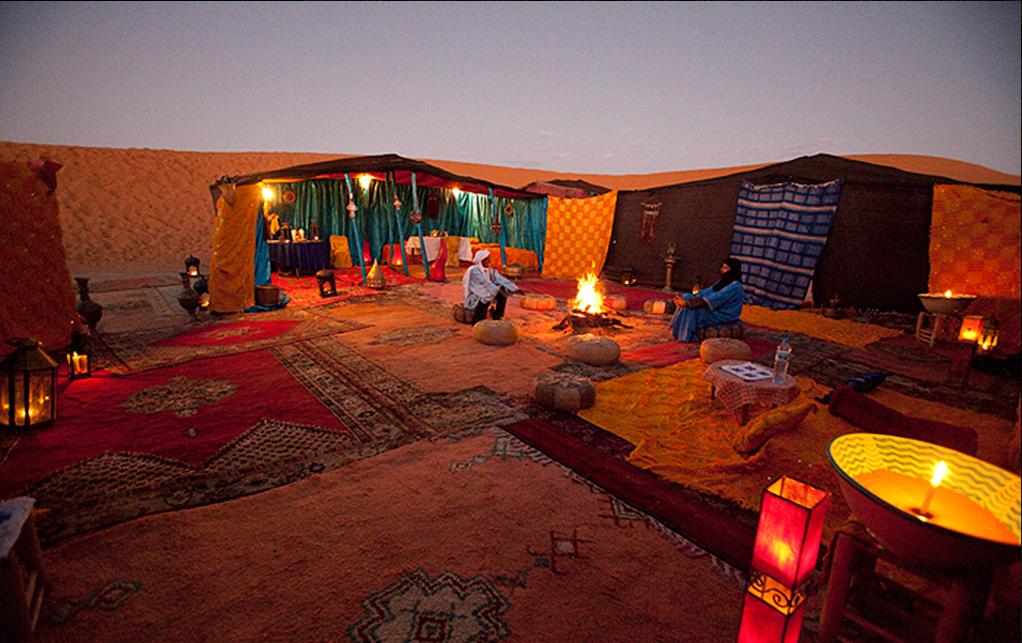 沙漠古典帐篷
