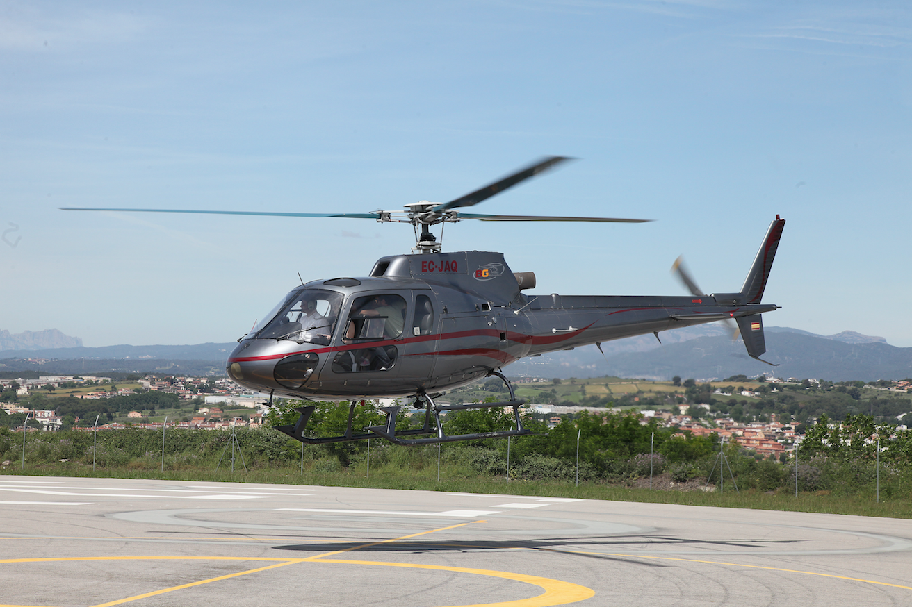 Helicóptero de lujo privado