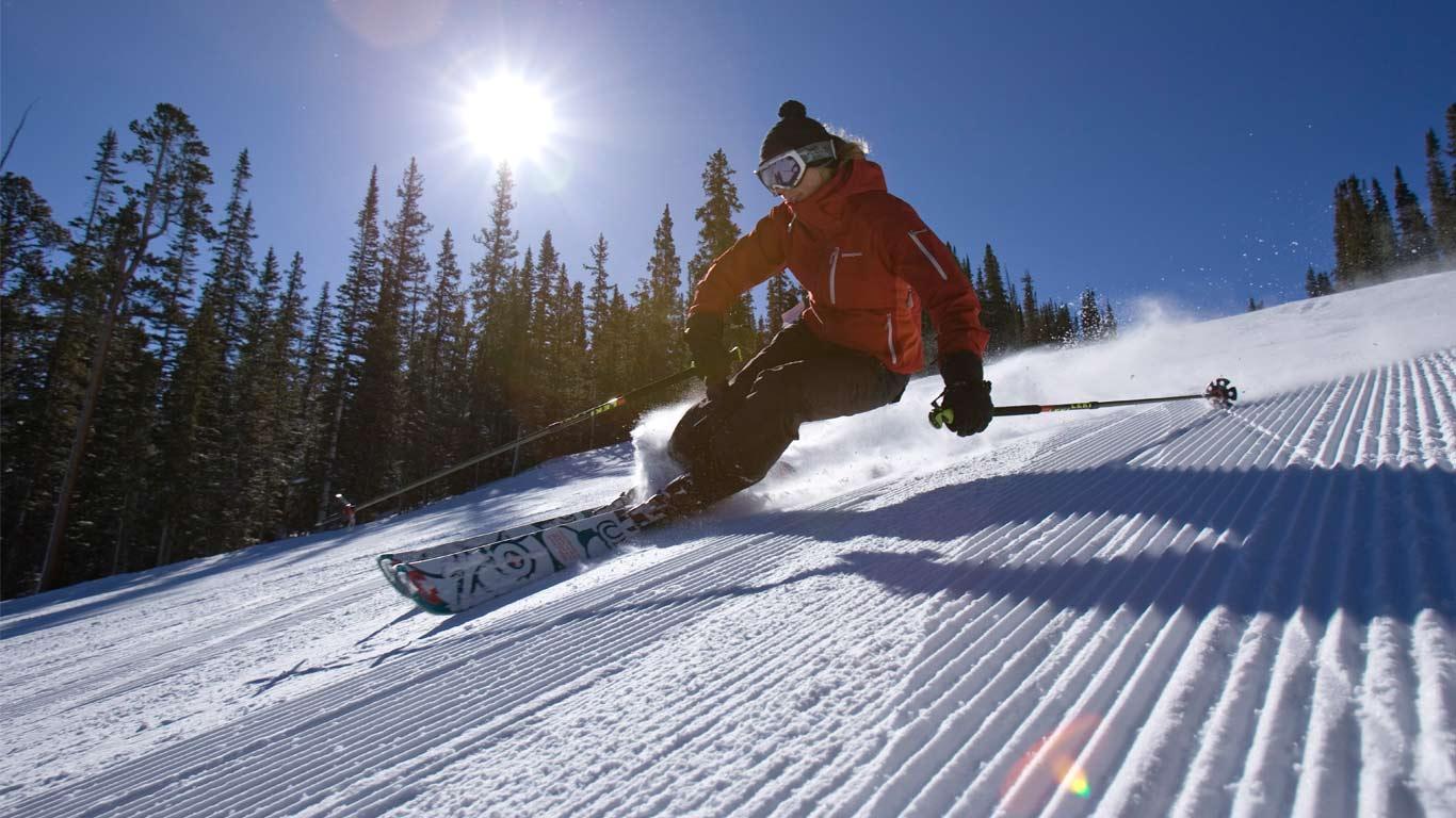 安道尔滑雪